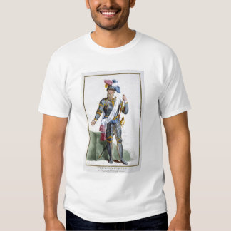 Fernand Cortez (1485-1547), engraved by Pierre Duf T Shirt