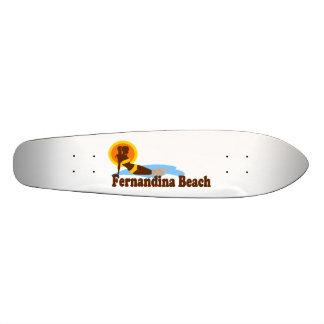 Fernandina Beach. Skate Board Deck