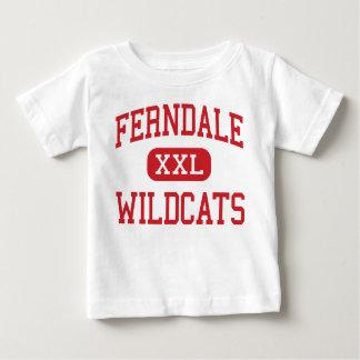 Ferndale - Wildcats - High - Ferndale California Baby T-Shirt