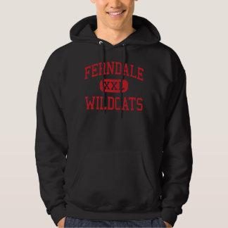 Ferndale - Wildcats - High - Ferndale California Hoodie