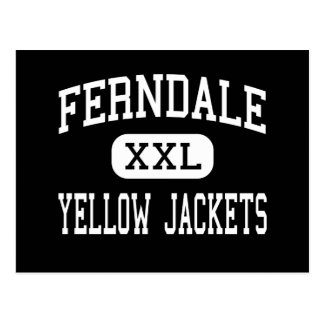 Ferndale - Yellow Jackets - Area - Johnstown Postcard