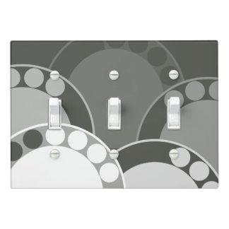 FernFrond Design - Dark Green - Light Switch