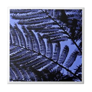ferns a digital photographic image tile design