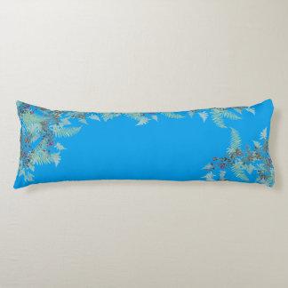 Ferns & Clematis Flower Floral Islands Body Pillow