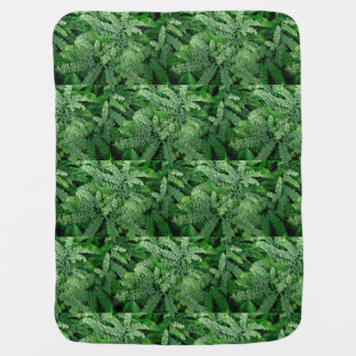 Ferns for baby: baby blanket