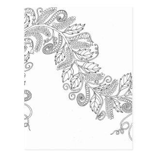 Ferns Greeting Card Postcard