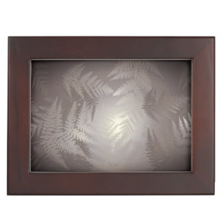 Ferns. Keepsake Box