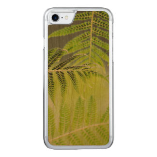 FERNS on wood Carved iPhone 8/7 Case