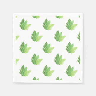 Ferns Paper Napkins
