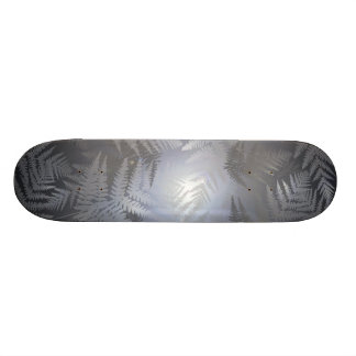 Ferns. Skateboard Deck