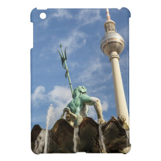 Fernsehturm and Neptunbrunnen in Berlin, Germany Cover For The iPad Mini