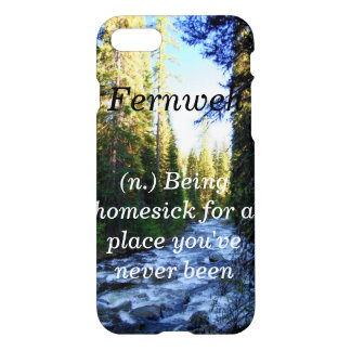 Fernweh iphone case