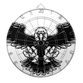 Ferocious Eagle Mascot Dart Board