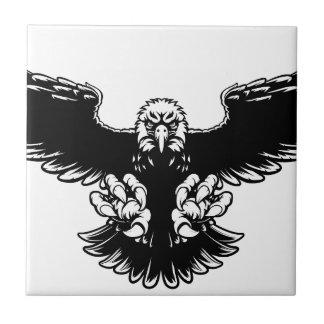 Ferocious Eagle Mascot Tiles