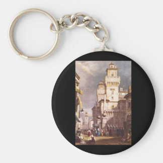 Ferraral', Samuel Prout_Engravings Basic Round Button Keychain