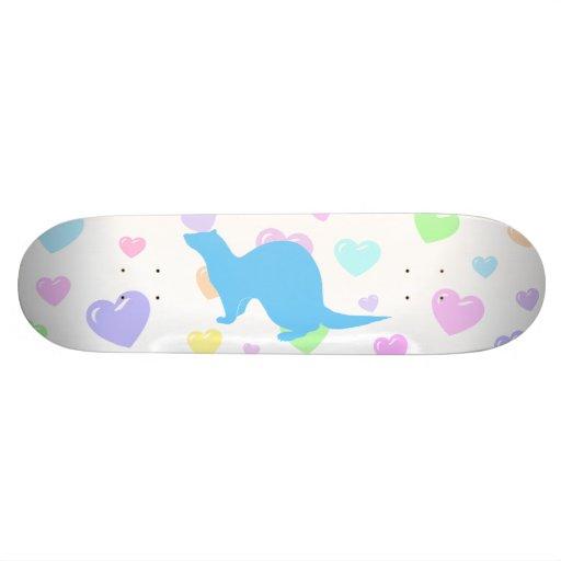 Ferret (5) skateboard deck