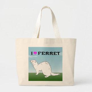 ferret (Al Pineau) Large Tote Bag