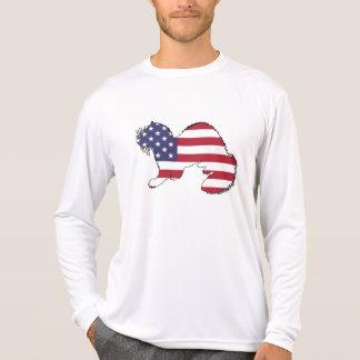 "Ferret ""American Flag"" T-Shirt"