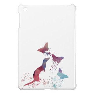 Ferret and butterflies cover for the iPad mini