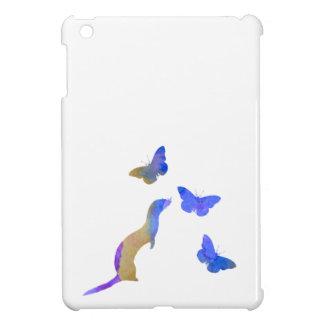 Ferret and butterflys iPad mini case