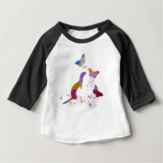 Ferret and buttterflies baby T-Shirt