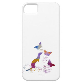 Ferret and buttterflies case for the iPhone 5