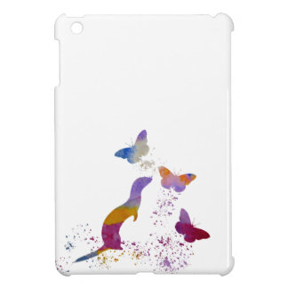 Ferret and buttterflies iPad mini cases