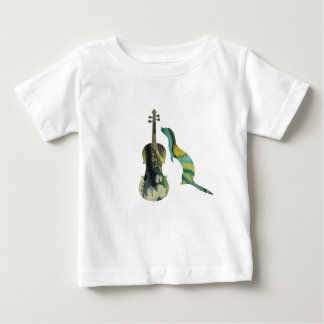 Ferret and saxophone baby T-Shirt