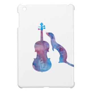 Ferret and saxophone iPad mini case