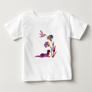 Ferret Art Baby T-Shirt