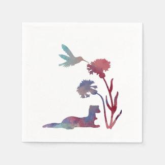 Ferret Art Disposable Napkin