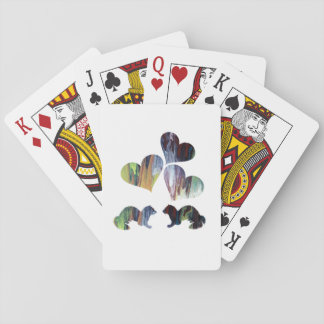 Ferret art playing cards