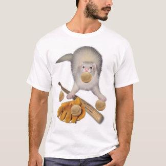 Ferret Baseball T-Shirt