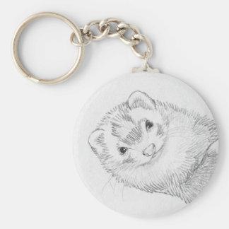 Ferret Keychain - Pandora