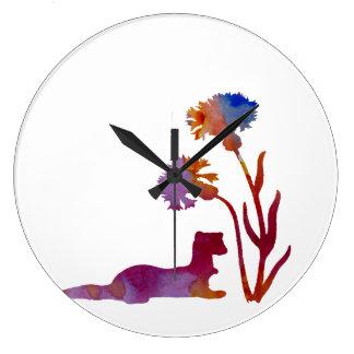 Ferret Large Clock