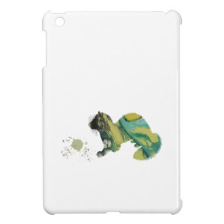 Ferret with toy iPad mini case