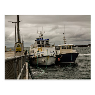 """Ferries at Doolin Pier"" postcards"