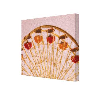 Ferris Wheel art canvas