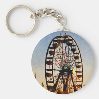 Ferris Wheel at Night Keychain