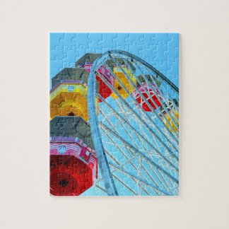 Ferris Wheel at Santa Monica Pier, California Jigsaw Puzzle
