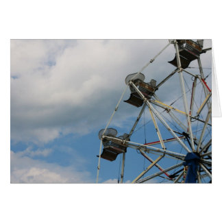 """ferris wheel"" by Larry Coressel Card"
