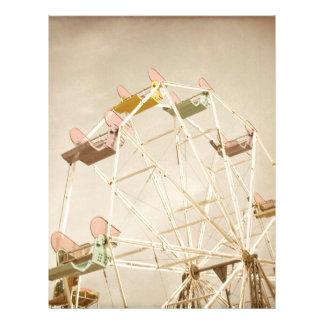 Ferris wheel child size letterhead