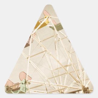 Ferris wheel child size triangle sticker