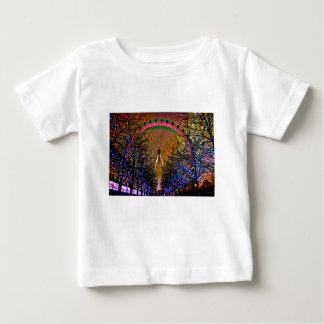 Ferris Wheel Christmas Baby T-Shirt