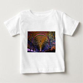 Ferris Wheel Christmas Lights Baby T-Shirt