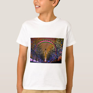 Ferris Wheel Christmas Lights T-Shirt