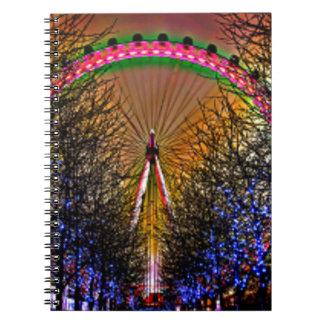 Ferris Wheel Christmas Notebook