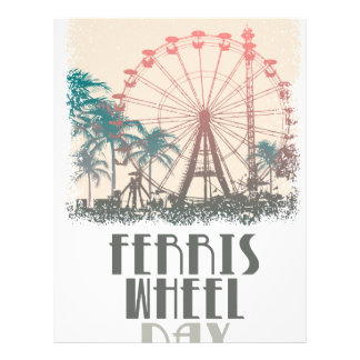 Ferris Wheel Day - Appreciation Day Letterhead