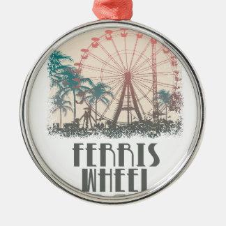 Ferris Wheel Day - Appreciation Day Metal Ornament