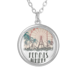 Ferris Wheel Day - Appreciation Day Silver Plated Necklace
